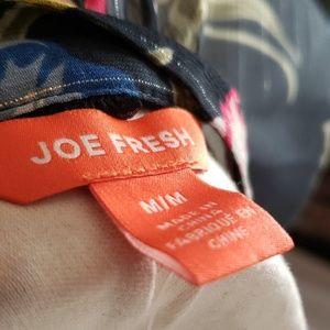Joe Fresh Tops - Joe Fresh Floral Sheer Blouse